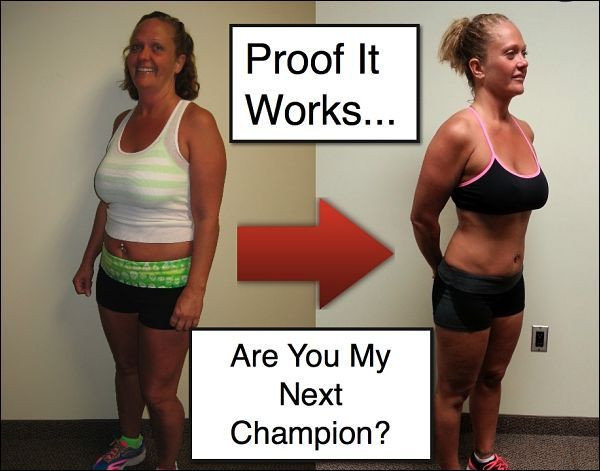 Personal training client example
